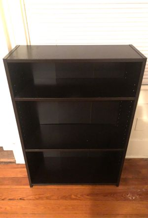 3 tiered shelves/book case (black) for Sale in Austin, TX