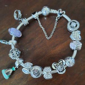 Pandora Disney Princess Bracelet for Sale in Hudson, NH