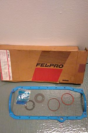 Fel-pro oil pan gasket set. They run 34 bucks and up. Trucks,, gm and GMC, v8 premium molded rubber gasket. Parts, tools for Sale in Costa Mesa, CA