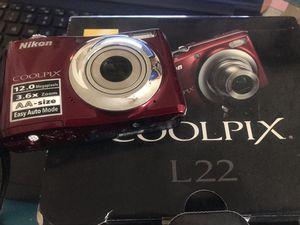 nikon coolpix digital camera L22 for Sale in El Cajon, CA