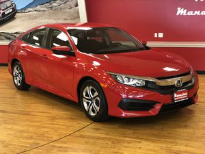 2017 Honda Civic RALLYE RED for Sale in Fairfax, VA