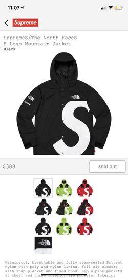 Supreme jacket size M ds black for Sale in Rockville,  MD