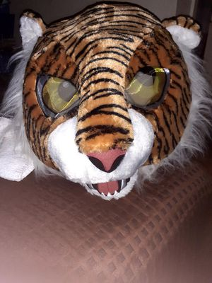 Cheetah face costume head for Sale in St. Petersburg, FL