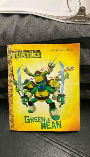 Teenage mutant ninja turtles kids book for Sale in West Jordan, UT