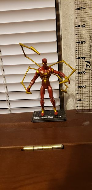 Iron Spider Spider-man Suit 3.75 Action Figure for Sale in Fort Worth, TX