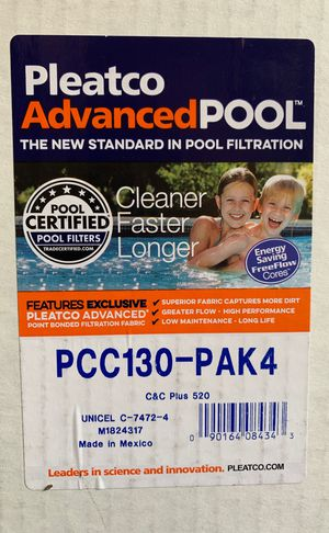 New PENTAIR POOL Filters Clean&Clear + (PCC130 - Pak4) for Sale in Spring Branch, TX