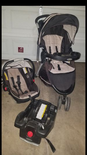 GRACO stroller and carseat base combo for Sale in Chandler, AZ