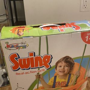 New unused in the box indoor swing with stand for Sale in Brooklyn, NY