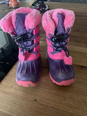 Kids snow boots size 7 for Sale in Mesa, AZ