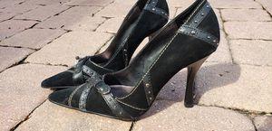 Size 7.5 71/2 black heels pumps stilettos for Sale in New Port Richey, FL