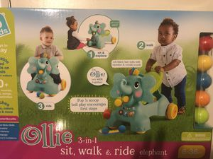 Baby Walker And Ride On New In Box for Sale in Rockville, MD