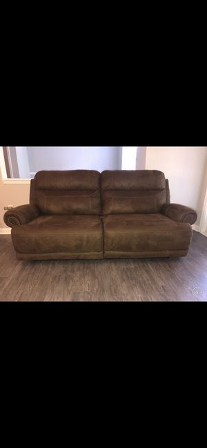 Austere Brown Power Reclining Sofa for Sale in Kennesaw, GA