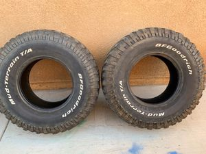 Bc good rich 37inch tires for Sale in Perris, CA