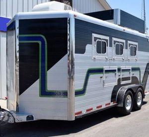Price $1800 2007 MVP 3 Horse Aluminum Bumper Pull Horse Trailer for Sale in Joliet, IL