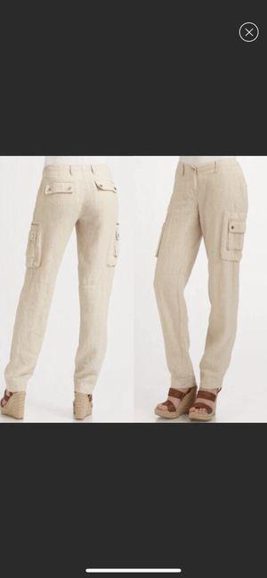 Michael Kors linen cargo pants for Sale in Bakersfield, CA