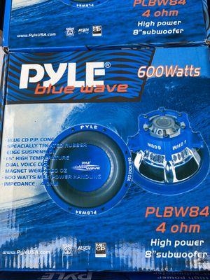 PYLE BLUE WAVE SUBWOOFER (Speakers) for Sale in Hollywood, FL