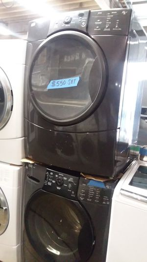 Kenmore elite washer and dryer set excellent conditions 4 months warranty for Sale in Laurel, MD