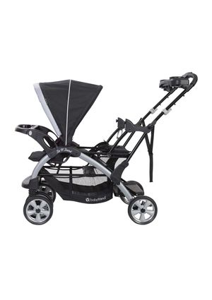 Baby trend double sit and stand stroller with car seat for Sale in Roselle, NJ