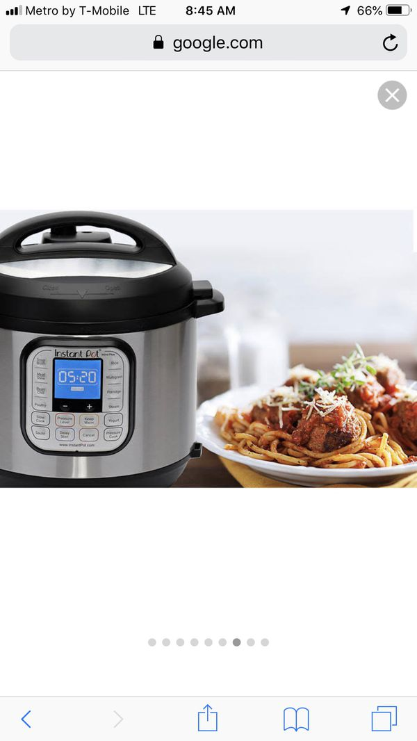 New instant pot pressure cooker multipurpose user 9 in 1 ,