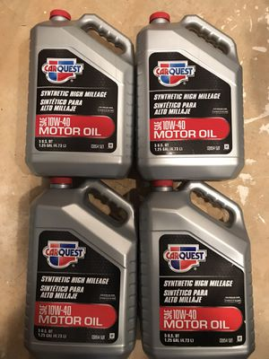 Carquest 10w40 synthetic motor oil in west Springfield for Sale in Springfield, VA