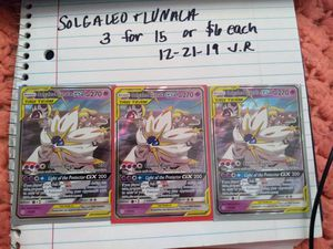 Pokemon: SOLGALEO and LUNALA tag team for Sale in Festus, MO