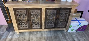 Antique cabinet 18 width 63 length for Sale in Queens, NY