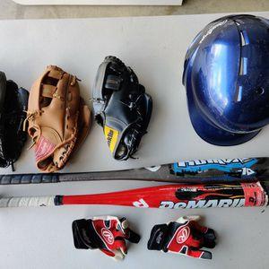 Little League Baseball Gear Set for Sale in Corona, CA