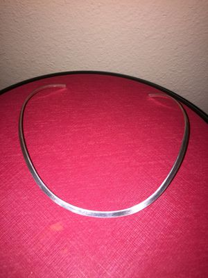 Gargantilla de plata silver choker sterling 925 for Sale in Aurora, CO