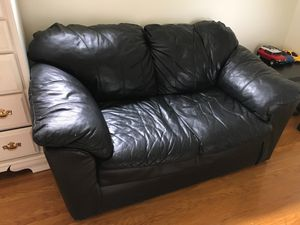 Leather couch for Sale in West Seneca, NY