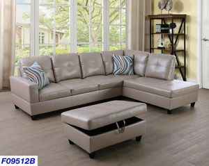Sectional & Ottoman for Sale in Puyallup, WA