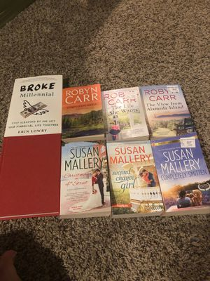 Book lot; Susan Mallery, Robyn Carr for Sale in Taylor, MI