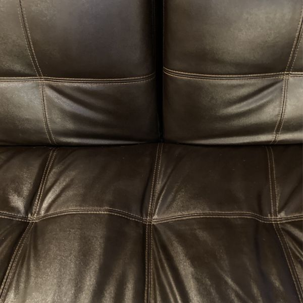 Leather Futon Couch
