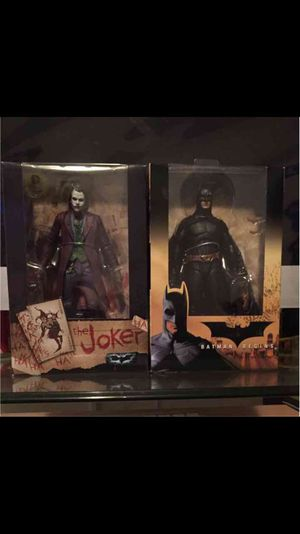 Neca batman and joker for Sale in Los Angeles, CA