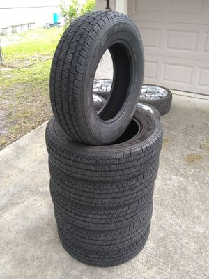 (6) 195/75r16 Nexen tires 195/75/16 8-ply D 195/75-16 16 inch rated for Sale in Port St. Lucie, FL