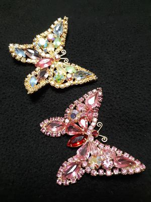 Vintage Weiss signed butterfly brooch pins for Sale in Manchester Township, NJ