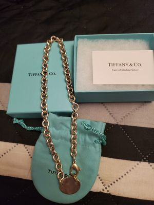 Tiffany Tag Choker necklace for Sale in Orange, CA
