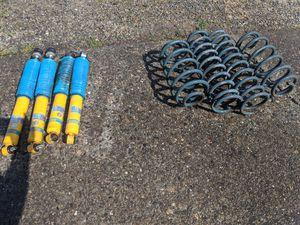 Jeep TJ lift springs, bilstein shocks, rear track bar relocation bracket for Sale in Marysville, WA