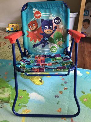 PJ mask kid's patio chair for Sale in Dunwoody, GA