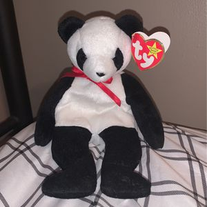 TY Beanie Baby - FORTUNE the Panda Bear (8 inch) for Sale in Staten Island, NY