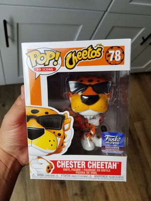Chester cheetah Funko pop Hollywood exclusive for Sale in Pico Rivera, CA