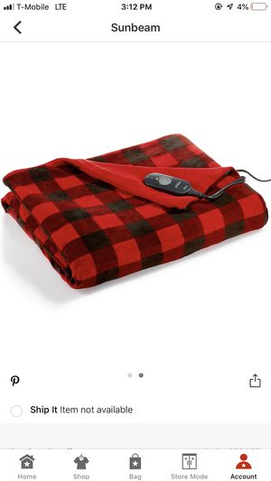 Electric heated blanket 15$ for Sale in Los Angeles, CA