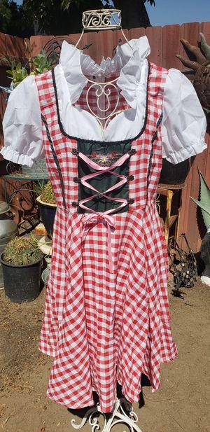 NEW OCTOBER FEST DRESS, COSTUME. SIZE WOMEN LARGE for Sale in Santa Fe Springs, CA