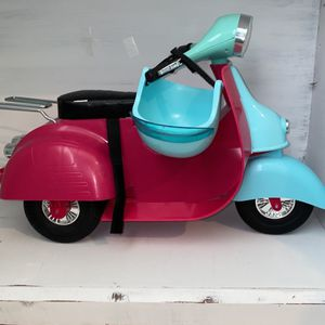 Our Generation Doll Scooter Pink And Blue for Sale in Bothell, WA