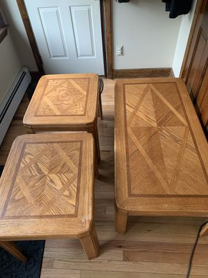 Coffee table and 2 end tables for Sale in East Bridgewater, MA