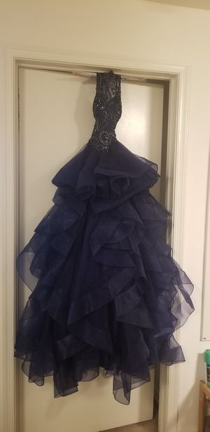 S/M Navy Blue prom dress for Sale in Washington, DC