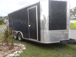 2016 cargo 8x16x7.5 w/electric and AC for Sale in Lutz, FL