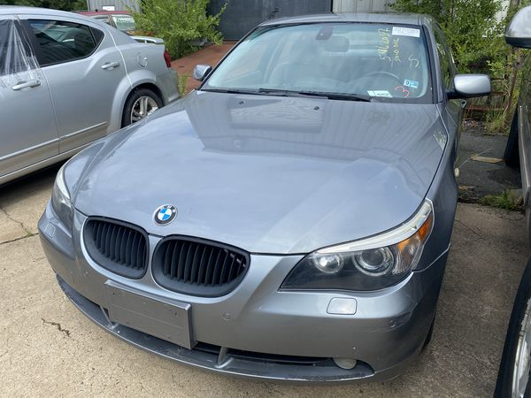 2006 bmw 550i part out