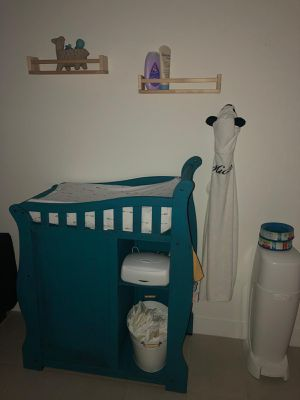 Hand painted changing table for Sale in Miami, FL