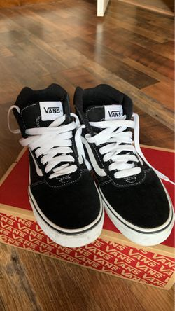 Black & White Hightop Vans for Sale in Jersey Shore,  PA