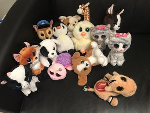 Beanie Boo's stuffed animals for Sale in Vancouver, WA